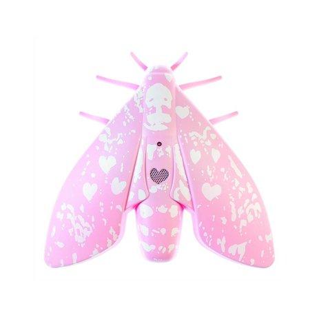 Jalo Rookmelder Lento 10 roze kunststof 18,8x18,4x5cm