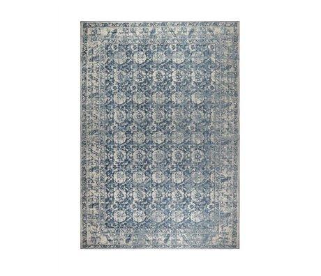 Zuiver Vloerkleed Malva denim blauw katoen 240x170cm