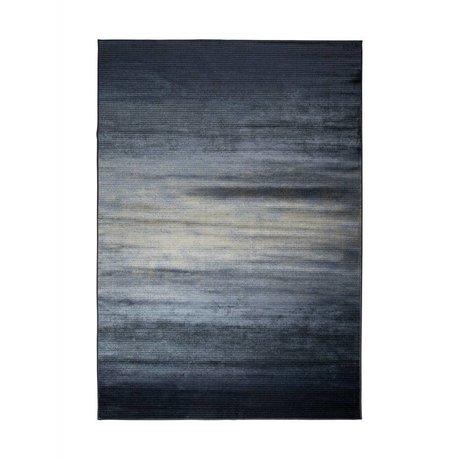 Zuiver Vloerkleed Obi blauw textiel 240x170cm