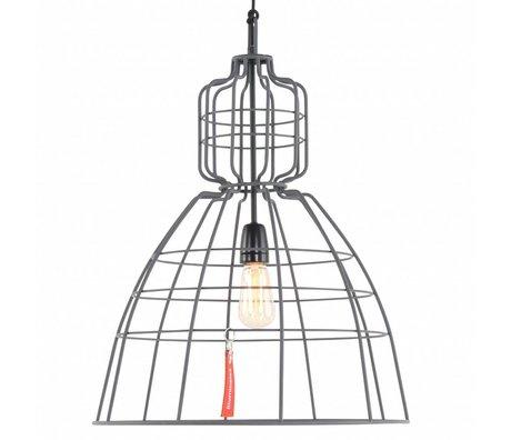 Anne Lighting Hanglamp Anne MarkllI grijs metaal ø43x68cm