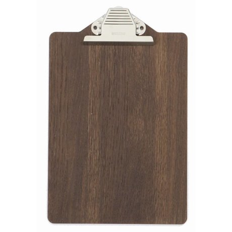 Ferm Living Klembord bruin hout 23x31.5cm