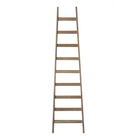 LEF collections Ladder naturel hout 56x4,5x217cm
