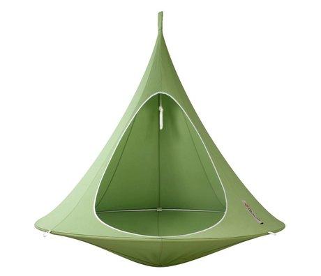 Cacoon Hangstoel tent Double 2-persoons groen 180x150cm