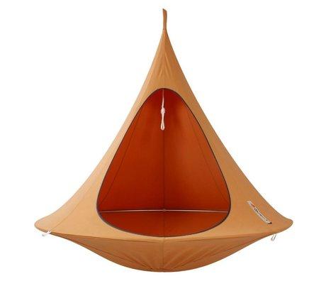 Cacoon Hangstoel tent Double 2-persoons oranje 180x150cm