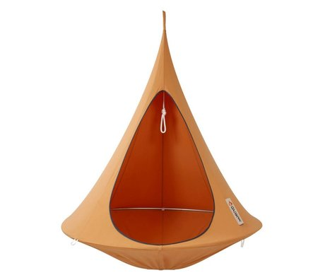 Cacoon Hangstoel tent Single 1-persoons oranje 150x150cm