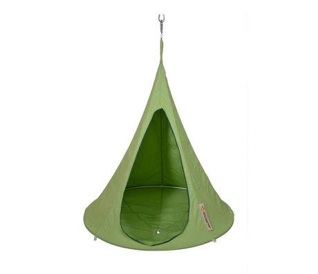 Cacoon Hangstoel tent Bonsai groen 125x120cm