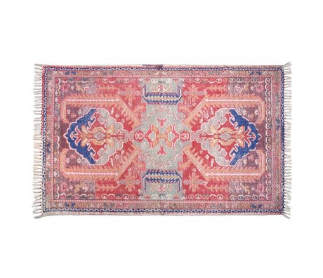 Storebror Vloerkleed Printed rug katoen 180x120cm