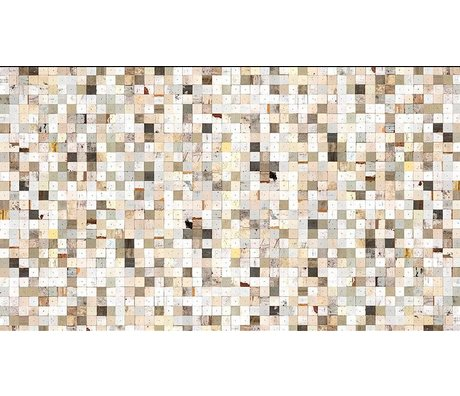 Piet Hein Eek Behang 'Sloophout 16' papier wit/bruin 900 x 48,7 cm