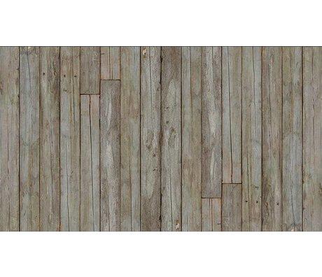 Piet Hein Eek Behang 'Sloophout 14' papier naturel grijs/bruin 900 x 48,7 cm