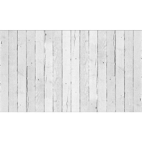 Piet Hein Eek Behang 'Sloophout 11' papier wit 900 x 48,7 cm