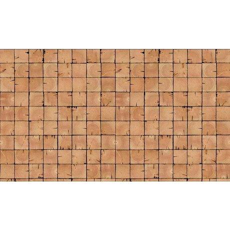 Piet Hein Eek Behang 'Sloophout 09' papier buin 900 x 48,7 cm