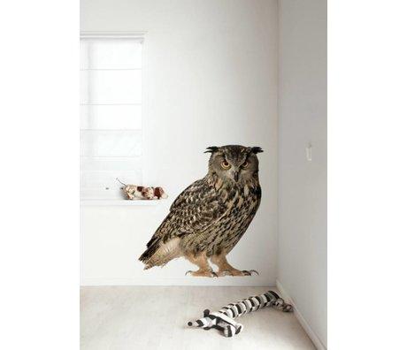 KEK Amsterdam Muursticker multicolour 97x112cm Forest Friend Owl XL muurfolie