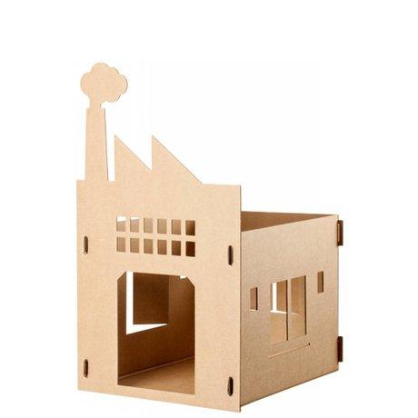 KEK Amsterdam Kattenpandje van karton Old factory