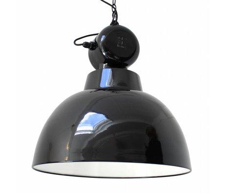 "HK-living Hanglamp zwart metaal Ø50cm, industriële lamp ""Factory"" L"
