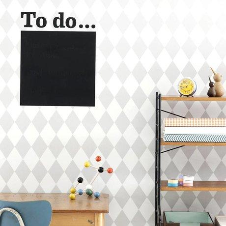 Ferm Living Behang Harlequin grijs papier 10.05mtrx53cm