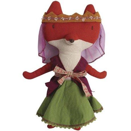 Maileg Knuffel mevrouw de Vos L30cm, Lady the fox