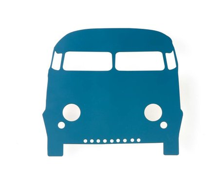 Ferm Living Wandlamp auto petrol hout 27x22,5cm, Car lamp