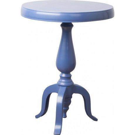 Zuiver Bijzettafel Fresh Classic blauw Ø31cm