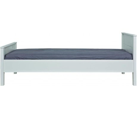 LEF collections Bed 'Jade' wit grenen 80x97x210cm