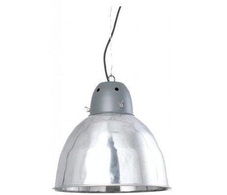 Housedoctor Hanglamp fabriek grijs metaal Ø32x30cm