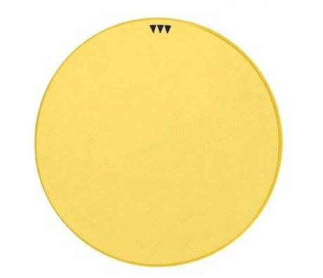 Ferm Living Schotel geel porselein diameter 15cm, Platter Curry