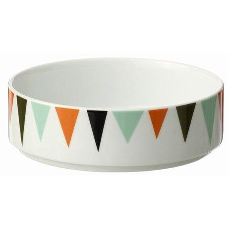 Ferm Living Schaal wit Bowl multicolour Ø13cmx4cm