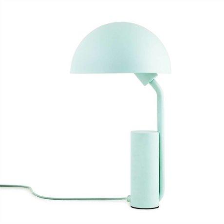 Normann Copenhagen Tafellamp Cap licht blauw kunststof ø28x50cm