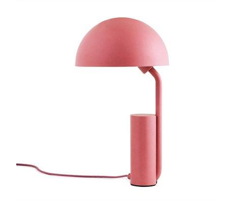 Normann Copenhagen Tafellamp Cap roze kunststof ø28x50cm