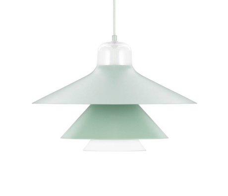 Normann Copenhagen Hanglamp Ikono mint groen gecoat staal glas ø45 cm