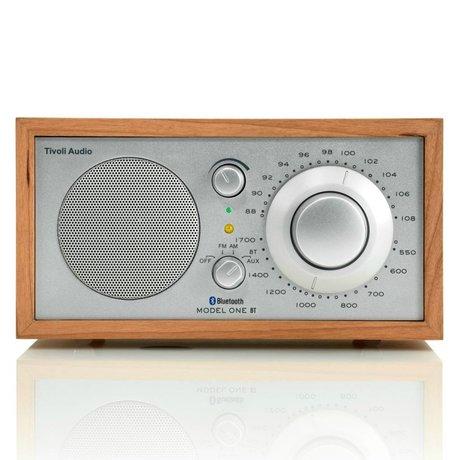 Tivoli Tafelradio One Bluetooth cherry zilver 21,3x13,3xh11,4cm