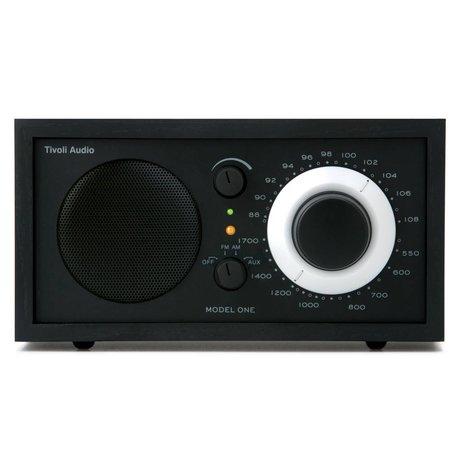 Tivoli Tafelradio One zwart 21,3x13,3xh11,4cm