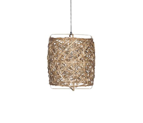 Ay Illuminate Hanglamp Bird's Nest naturel bamboe medium ø60x77cm