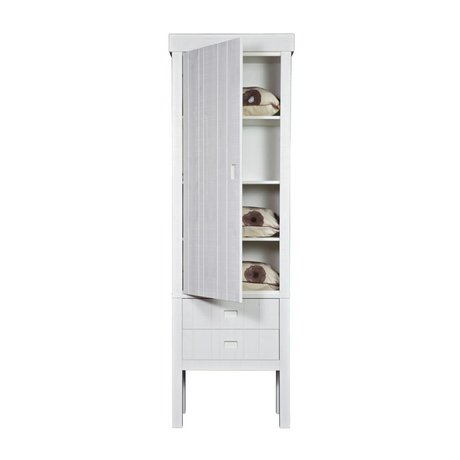 BePureHome Kast Summit wit grenen 231x73x42cm