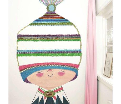 KEK Amsterdam Behang Little Prince multicolour vliespapier 194,8x280cm