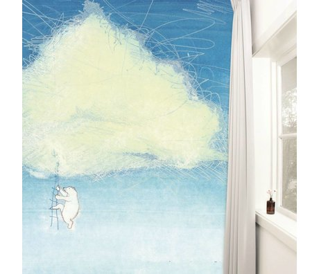KEK Amsterdam Behang Climbing the clouds multicolour vliespapier 389,6x280cm