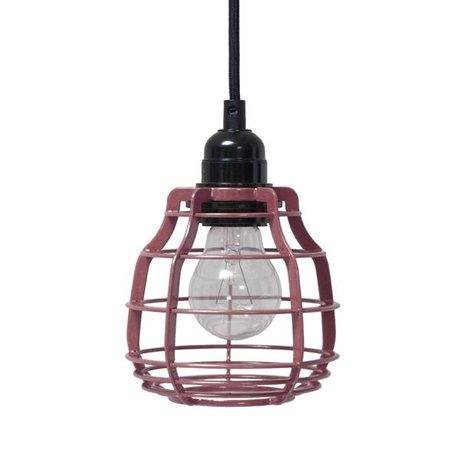HK-living Hanglamp LAB marsala met pendel metaal ø13x13x17cm