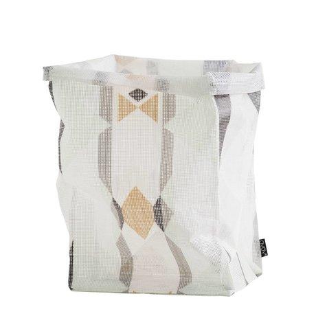 OYOY Opbergmand Hokuspokus bag large multicolour 30x30x54cm