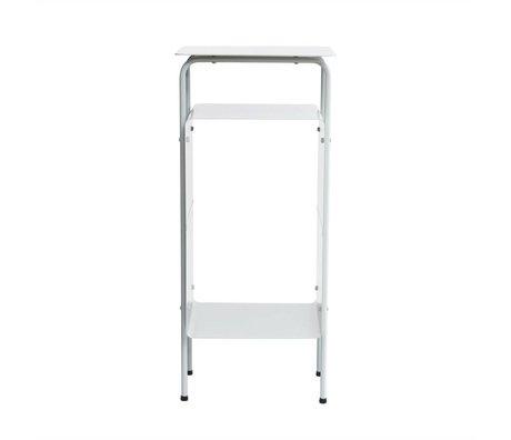 Housedoctor Bijzettafel Room grijs metaal 32x30x70cm