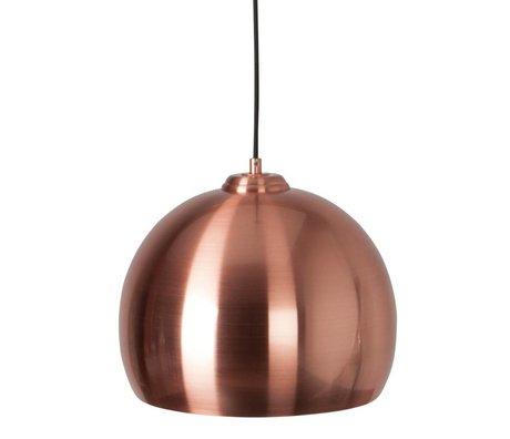 Zuiver Hanglamp Big Glow koper metaal Ø27x21cm