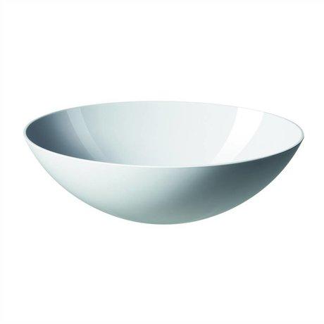 Normann Copenhagen Saladeschaal Krenit wit melamine 28x9cm