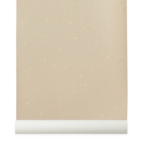 Ferm Living Behang Confetti roze 10x0,53m