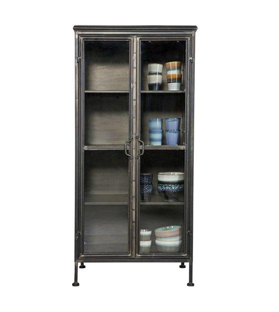 Stoere Kast Woonkamer.Bepurehome Kast Puristic Cabinet Zwart Metaal 59x41x124cm Lefliving Be