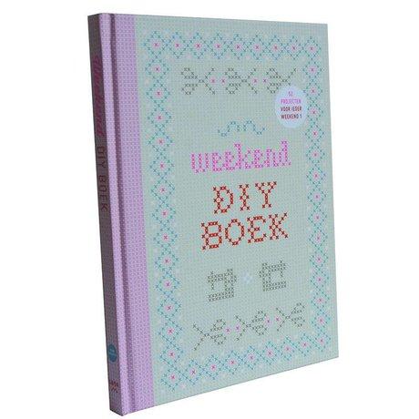 Uitgeverij Snor Boek Het Weekend DIY boek multicolour papier 17x25,5cm