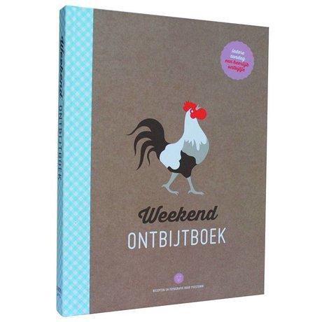 Uitgeverij Snor Boek Het Weekend Ontbijtboek multicolour papier 2x23,3x17,9cm
