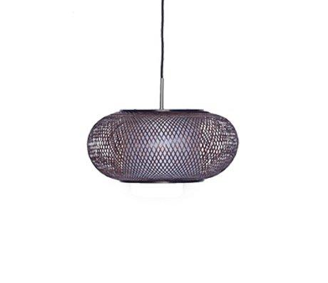 Ay Illuminate Hanglamp Twiggy AL Shade bruin bamboe Ø40x19cm