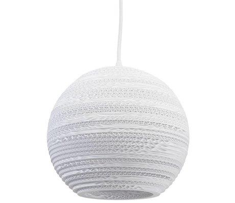 Graypants Hanglamp Moon 10 Pendant wit karton Ø26x22cm