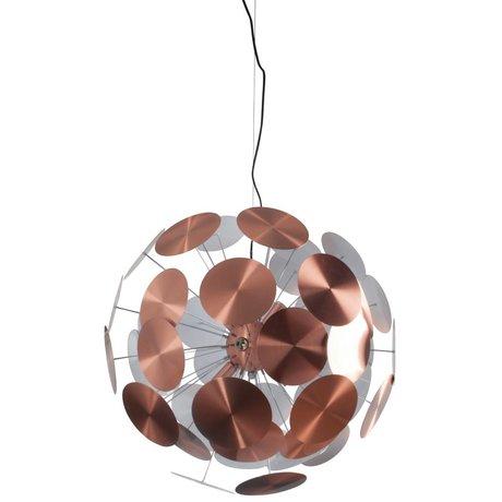 Zuiver Hanglamp Plentywork metaal koper Ø65x185cm