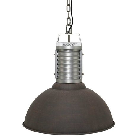 Anne Lighting Hanglamp Anne Oncle Philippe bruin aluminium ø50x192cm