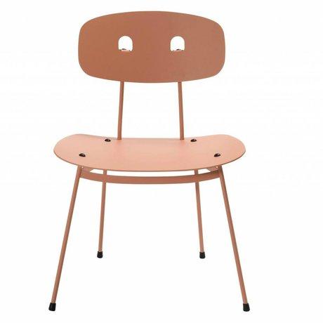 Tristan Frencken Loungestoel Bent Lounge Blush roze aluminium 69x55x47,5cm