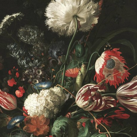 KEK Amsterdam Behang Golden Age Flowers I multicolor vliespapier 389,6x280cm